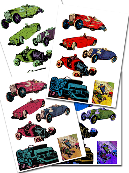 free printables,car,comic