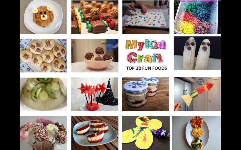fun foods, kids, party, healthy