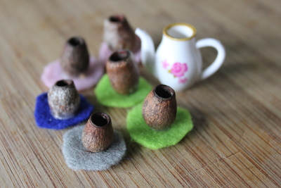 gumnut teacups, gumnut craft,