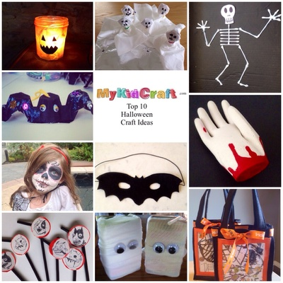 Halloween craft ideas, top 10 Halloween craft ideas, kids Halloween craft, Halloween craft kids