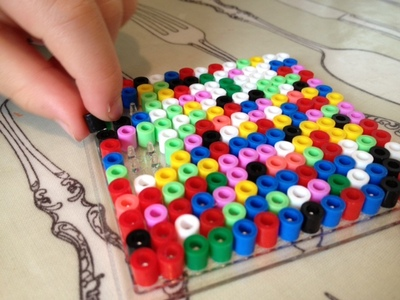 hama bead, review, preschool, toddler, fine motor skills
