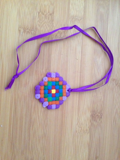 Hama beads, Hama bead medallion, Hama bead medal, Hama bead tutorial, Hama bead ideas, things to make with Hama beads
