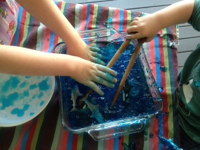 Sea Creature Jelly Hunt My Kid Craft