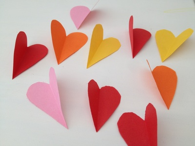 Heart, valentine, card, papercraft