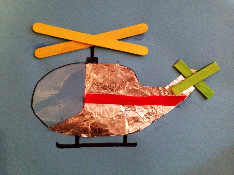 How To Make A Helicopter Craft