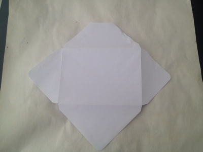 homemade envelope kids craft