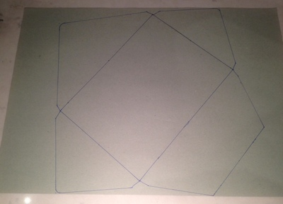 homemade envelope template