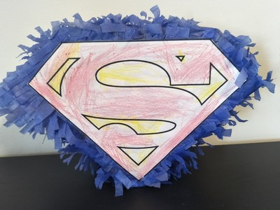 how to make a superhero pinata