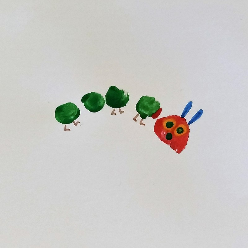 The Very Hungry Caterpillar Birthday Card