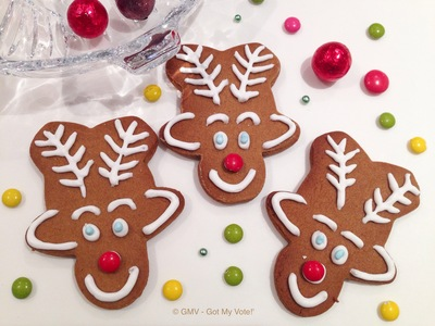 Christmas Kiddy Gingerbread Rudolph Reindeer My Kid Craft