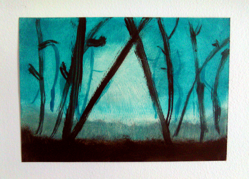 Mystical Forest Oil Painting For Dummies