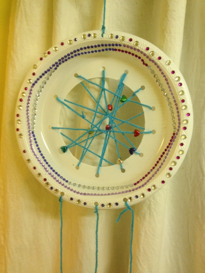Plate Dream Catcher
