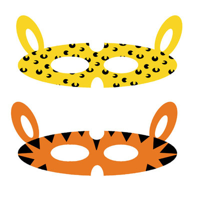 jungle animals,jungle masks,printables