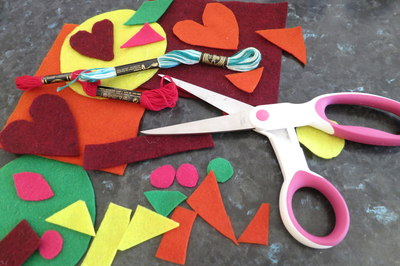 kids' felt craft