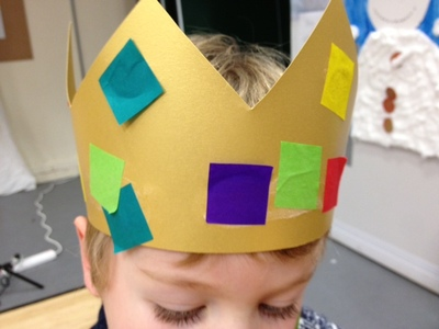 king, crown, toddler, preschool, craft