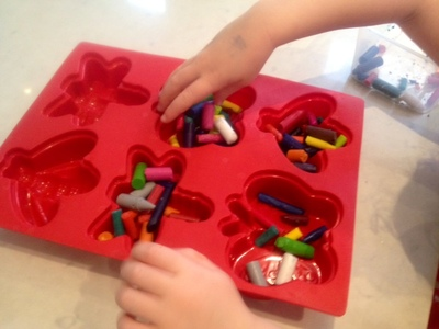 make your own crayons old crayon stubs bugs wax