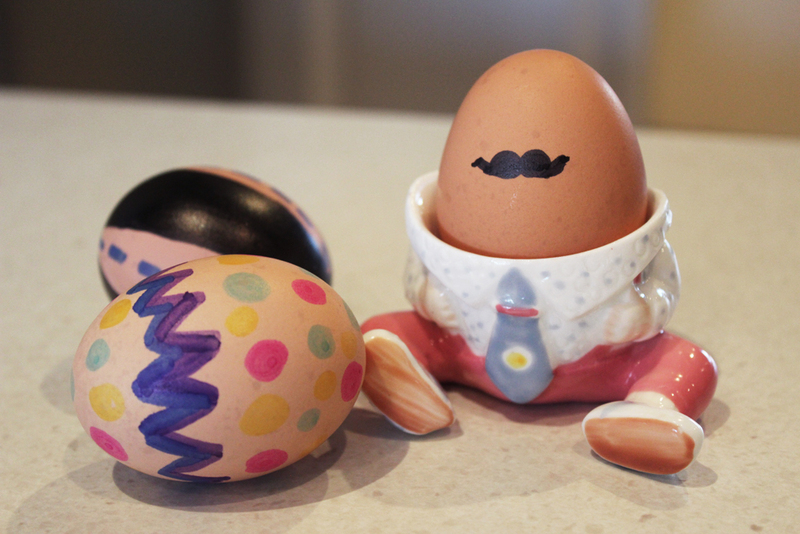 Easy decorated eggs my kid craft ccuart Gallery