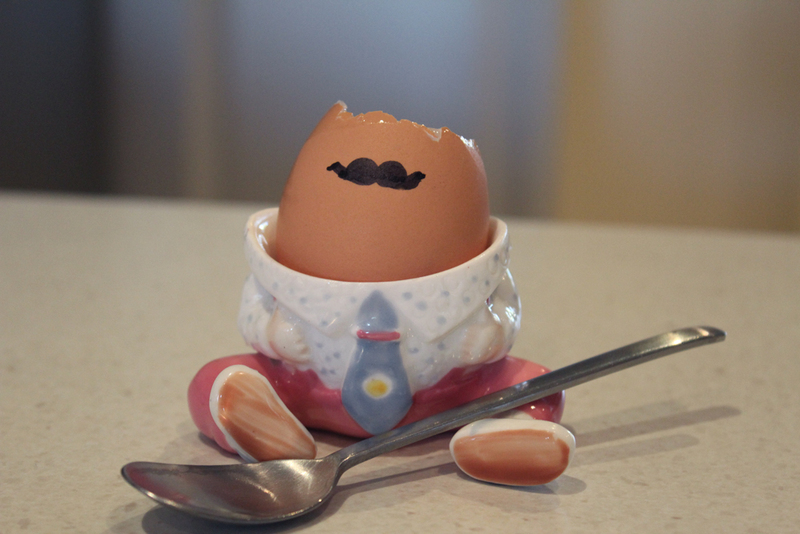 Marker Decorated Eggs Easy Decorated Eggs Moustache Boiled Eggs