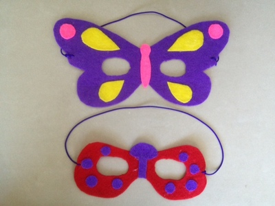 spots and head to stick on to ladybird, ladybird craft, ladybug craft