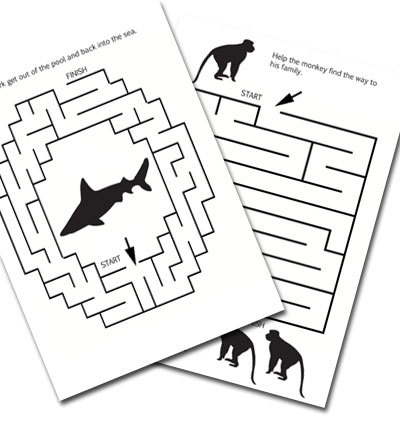 maze,puzzle,printable,animal