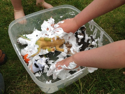 Messy, preschool, sensory