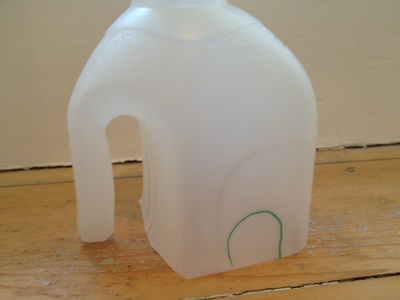 Milk carton, elephant, preschool, safari, recycled