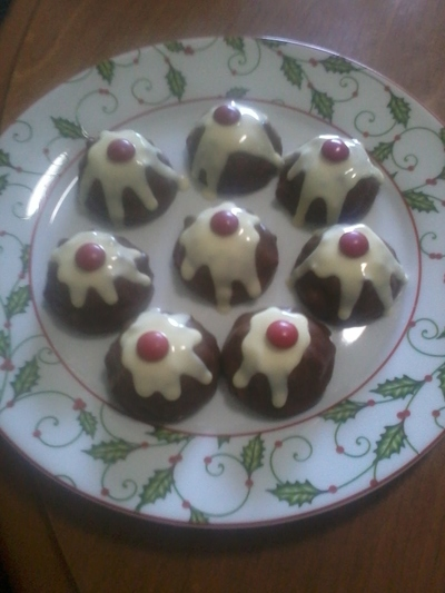 Mini chcolate puddings
