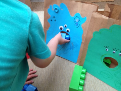 Monster, game, preschool
