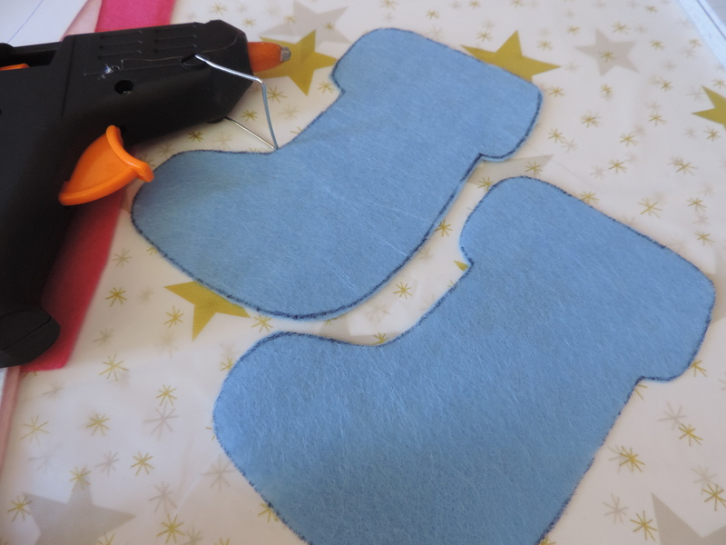 No-sew Felt Stocking