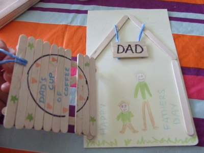 open, gate, father's day, card