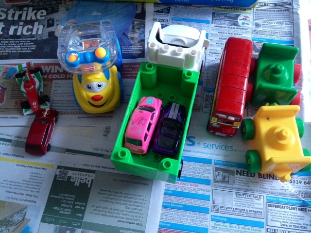 painting with cars toy cars ready to paint kids craft