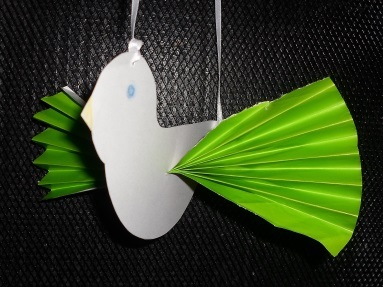 paper bird decoration, children, craft activities, kids