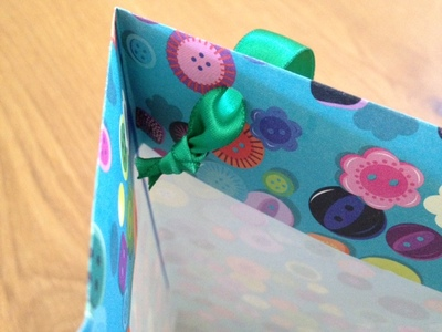 paper gift bag, children, craft, present, wrapping, gift