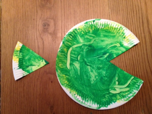 paper plate, fish, toddler, pre school, paint, art, craft, children  - Hungry Paper Plate Fish