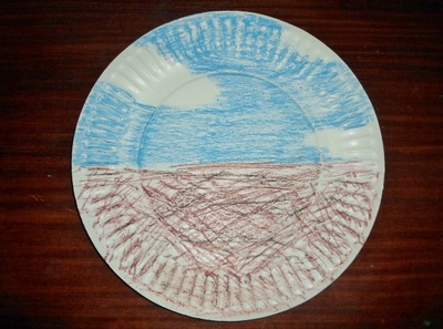 paper plate nest craft kids activity
