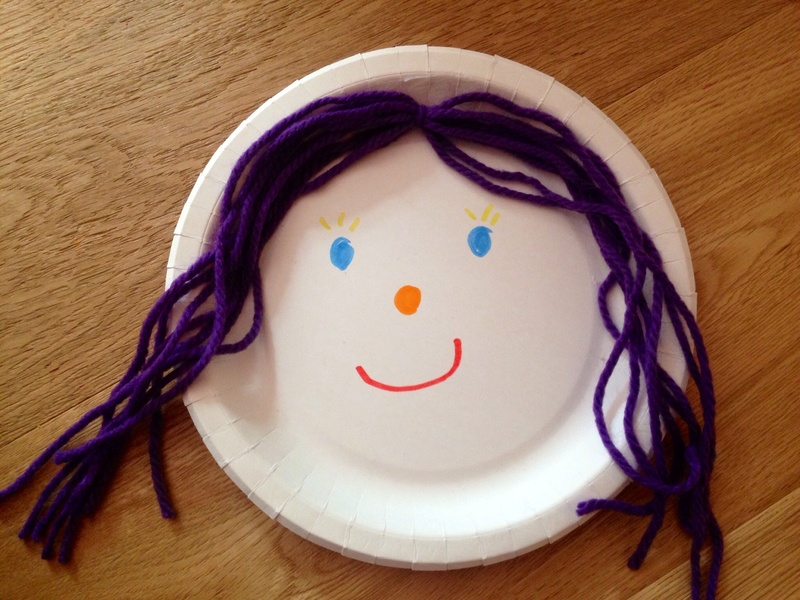 Paper plate puppet paper plate craft paper plate Popsicle stick puppet easy puppet - Paper Plate Puppets - Image 2 : paper plate puppets - pezcame.com