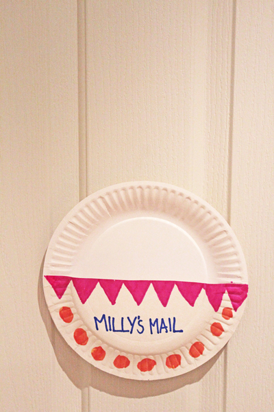 paper plates, mailbox, love letters, valentines days ideas, kids crafts