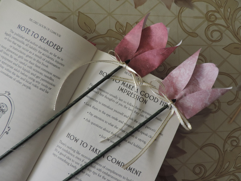 Paper Rose Bookmark