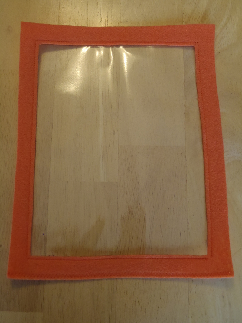 straps  - Picture Frame Halloween Treat Bags