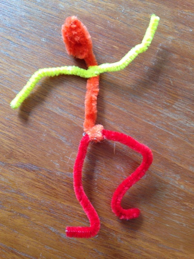Pipe cleaner person