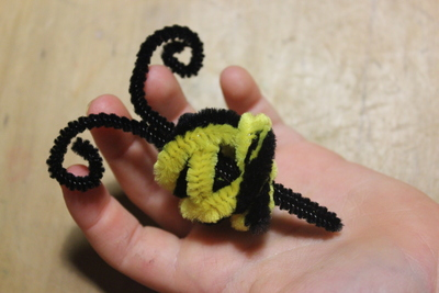 pipe cleaners, pipe cleaner art, pipe cleaner craft