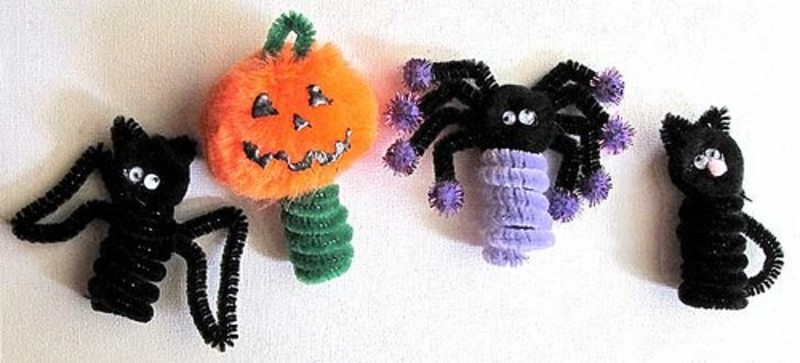 Pipe Cleaners  - 5 Simple Ways to Personalize Your Halloween Costume