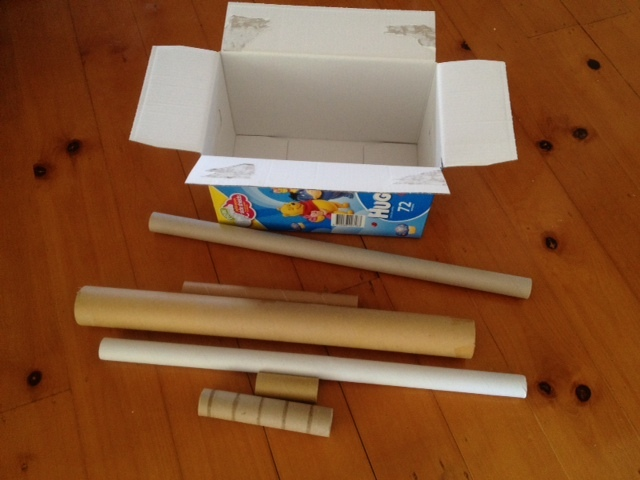 Cardboard Crafts For Toddlers Toddler Painting Cardboard