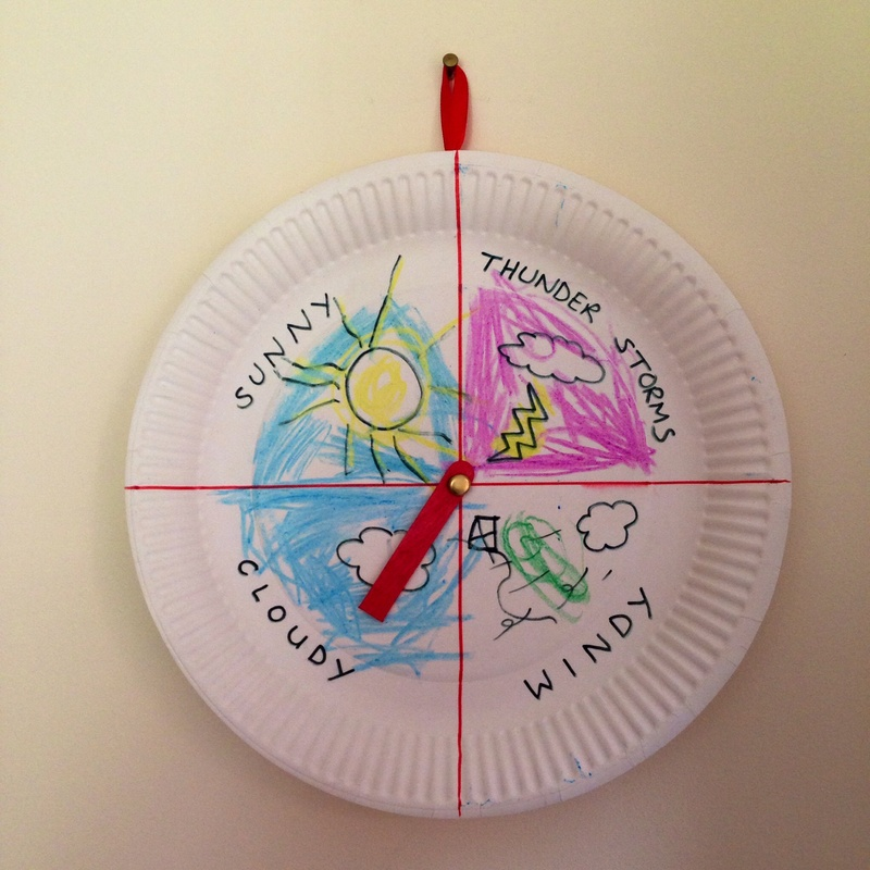 & Weather Chart - My Kid Craft
