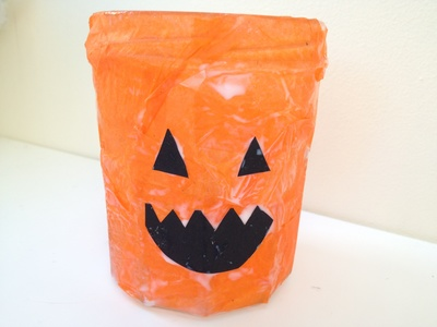 Pumpkin, lantern, Halloween, craft