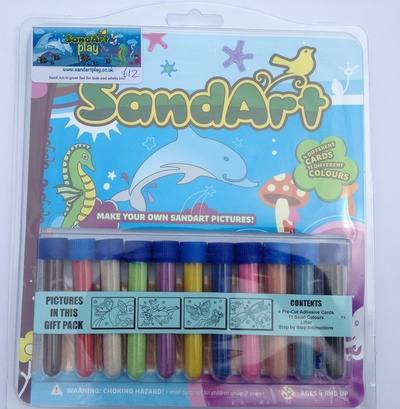 Sand art play, review, coloured sand