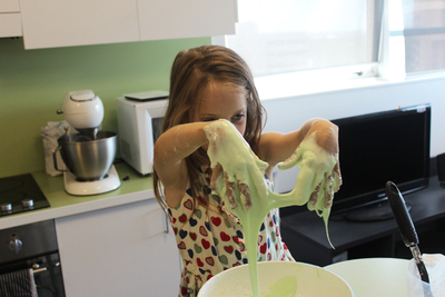 slime, how to make slime, borax free slime, slime recipe