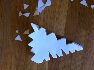 snow flake, paper, kid, christmas