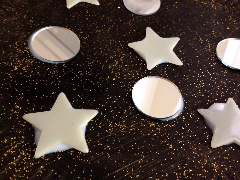Space Craft Ideas For Kids Part - 30: Space Craft, Planet Kids Craft, Glow In The Dark Star Craft, Mirror Craft,  Outer Space Craft Ideas For Kids - Galactic Glow Decorations - Image 4