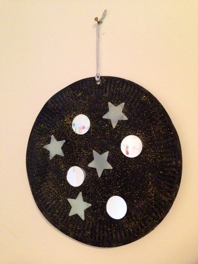 Space craft, planet kids craft, glow in the dark star craft, mirror craft, outer space craft ideas for kids